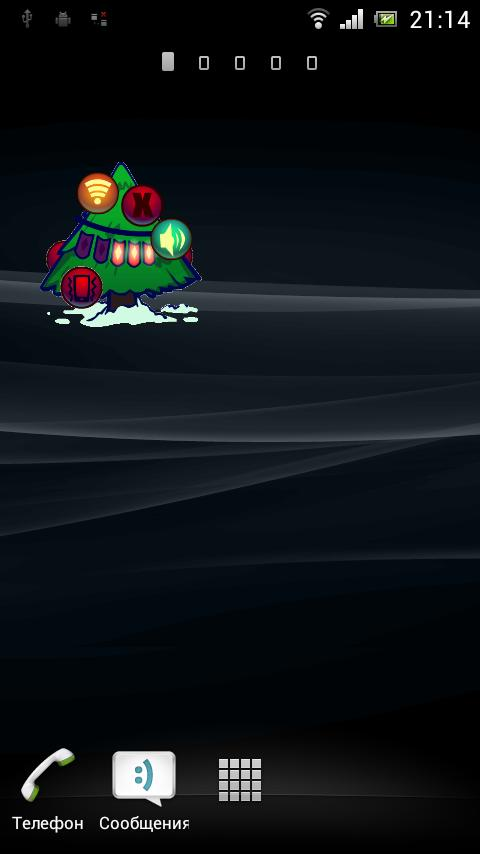 Сhristmas Tree Widget- screenshot