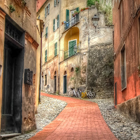 Finalborgo (Finale Ligure Savona Italy) by Fernando Ale - City,  Street & Park  Historic Districts (  )