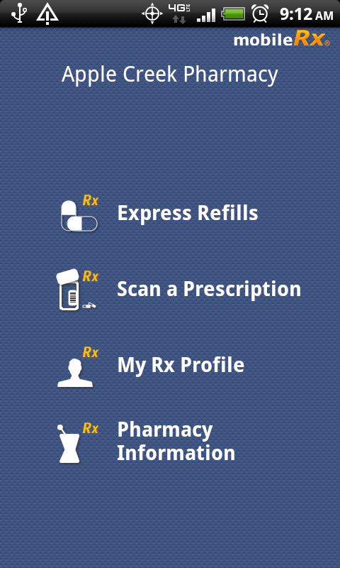mobileRx Pharmacy- screenshot