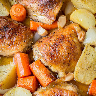 One Pot Chicken & Potatoes.