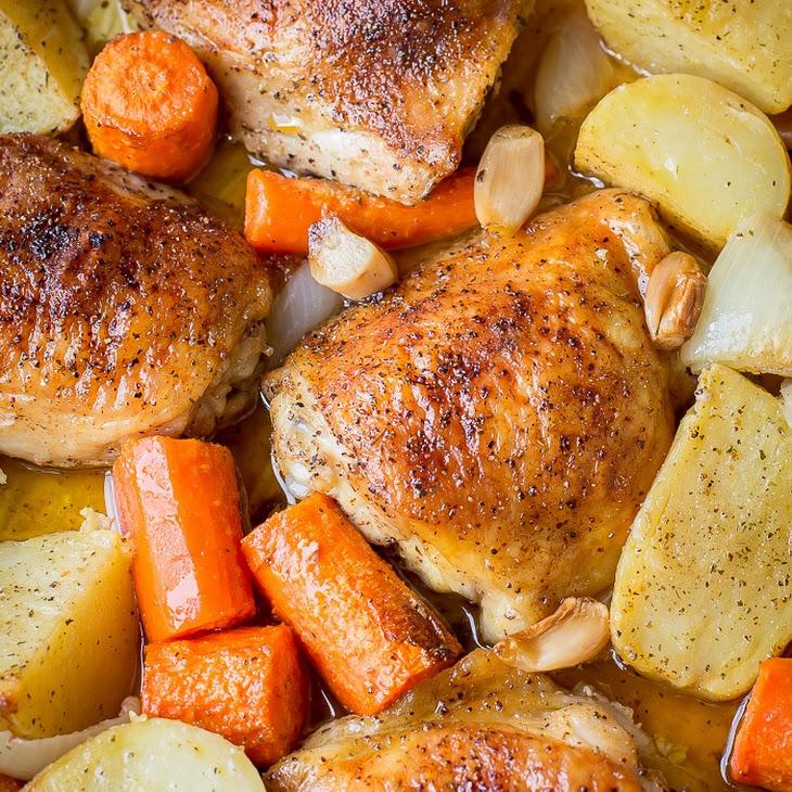 One Pot Chicken & Potatoes Recipe