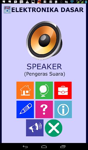 Belajar Elektronika Speaker