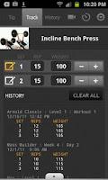 Screenshot of FitnessBuilder