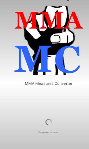 Convert mesures MMA UFC BOXE