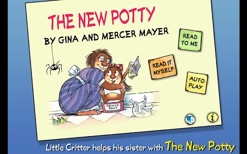The New Potty - Little Critter- screenshot thumbnail