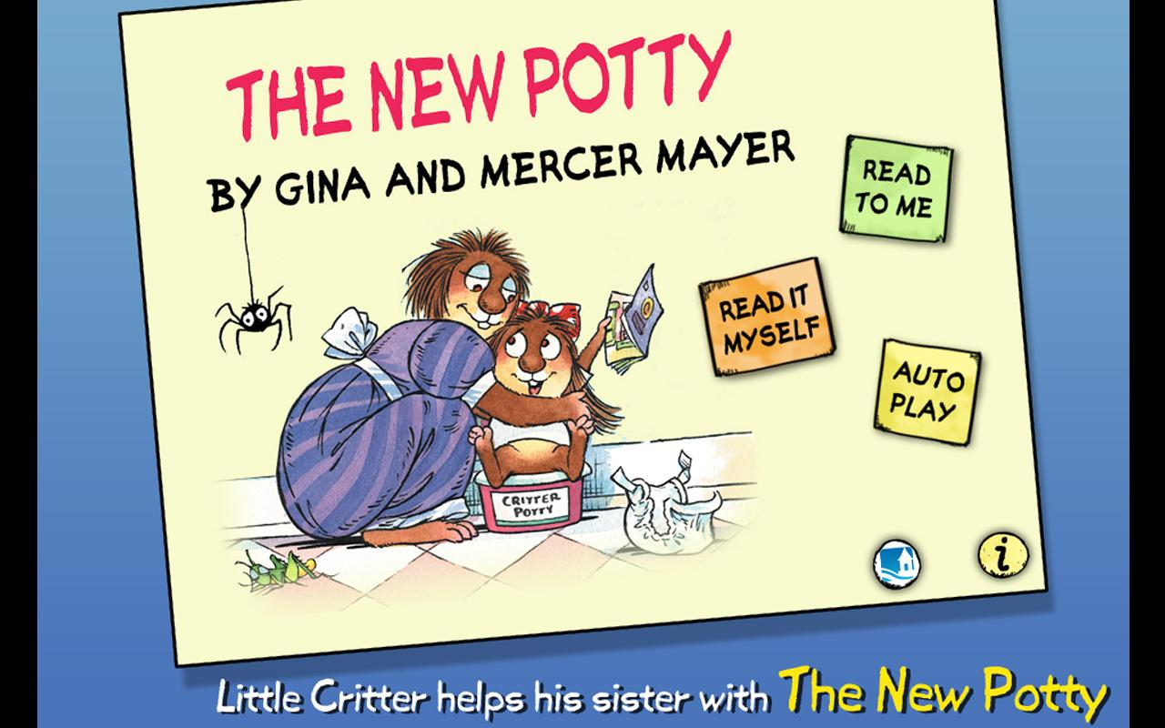 The New Potty - Little Critter - screenshot