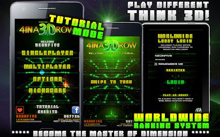 4 IN A 3D ROW LITE Screenshot 10
