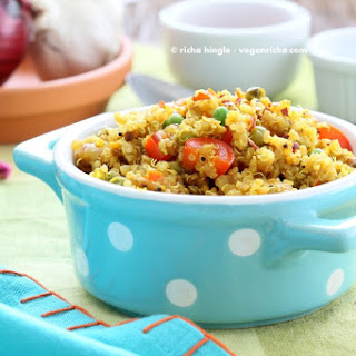 South Indian Quinoa with Tamarind & Pumpkin