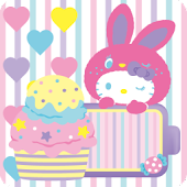 HELLO KITTY Battery Widget3