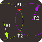 Two Circles Intersection