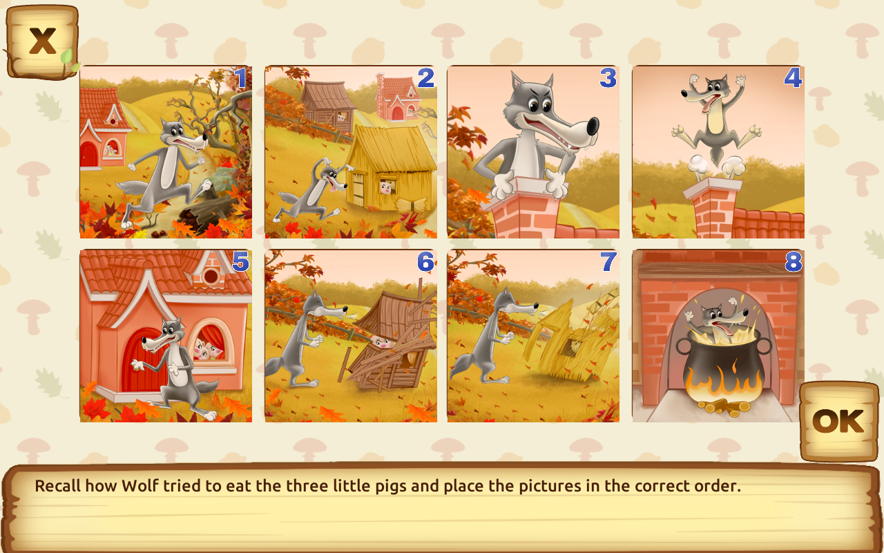 Three Little Pigs for kids 35  Android Apps on Google Play