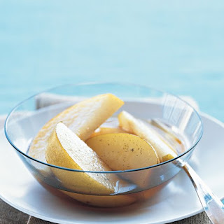 Vanilla-Ginger Asian Pears Recipe