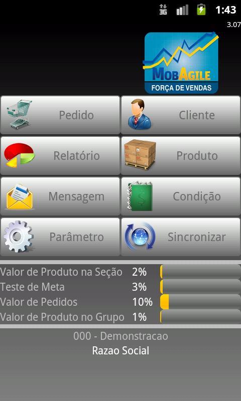 MobAgile Força de Vendas- screenshot