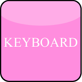 Soft Pink Keyboard Skin