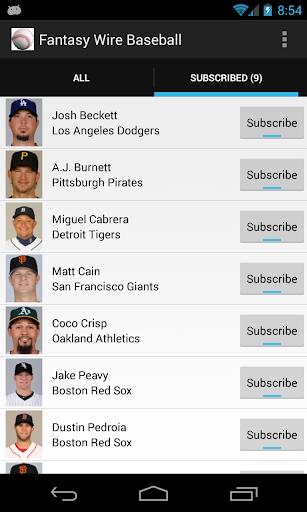 【免費運動App】Fantasy Baseball Wire-APP點子
