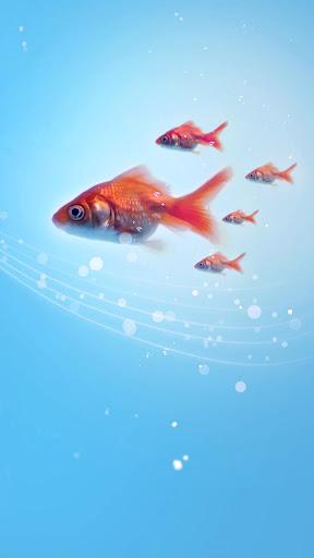 無料个人化Appの金魚ライブ壁紙|記事Game