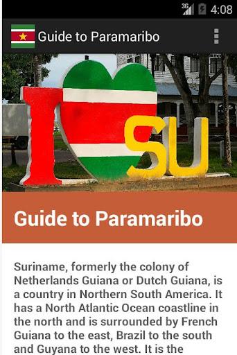 Free guide to Paramaribo