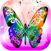 4D Butterfly Live Wallpaper