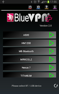 BlueVPN+ Screenshot