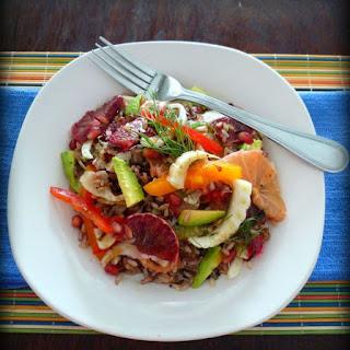 Healthy Wild Rice & Citrus Salad