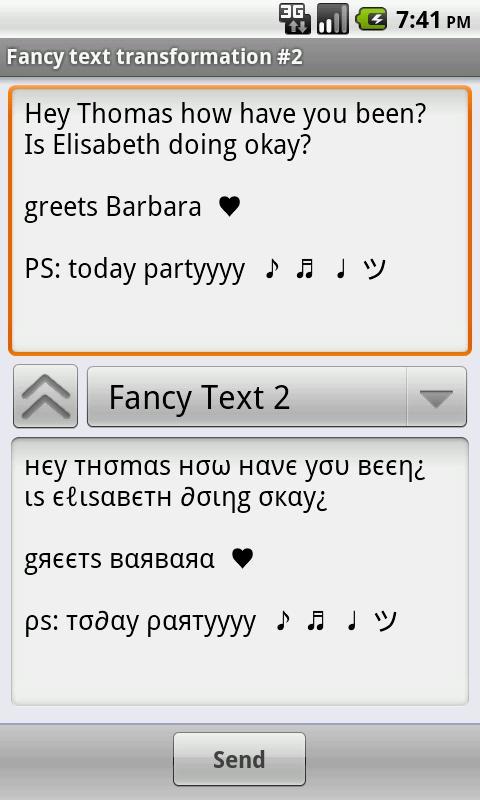 Funny Text Creator Donate- screenshot