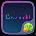 GO SMS LOVE NIGHT THEME icon