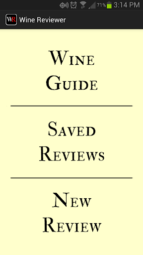 Wine Reviewer