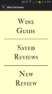 Wine Reviewer- screenshot thumbnail