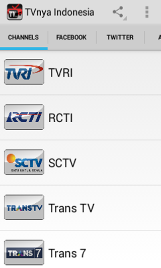 TVnya Indonesia - screenshot