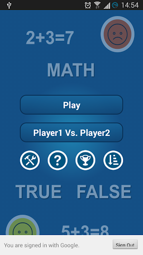Math True False