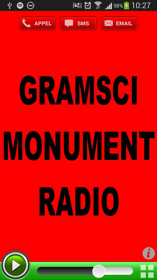 Gramsci Monument Radio - screenshot