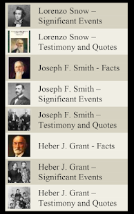 LDS Church Presidents (Mormon)- screenshot thumbnail