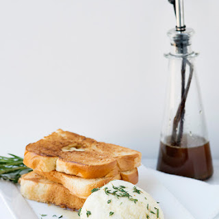 Ricotta with Honey and Herbs