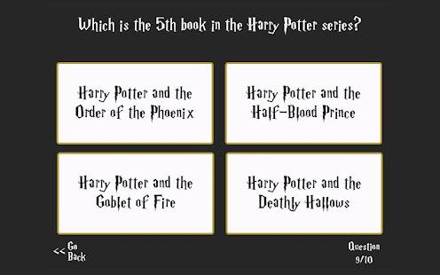 Ultimate Harry Potter Trivia- screenshot thumbnail