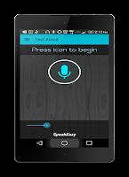 Screenshot of Text Aloud - Hands Free Lite