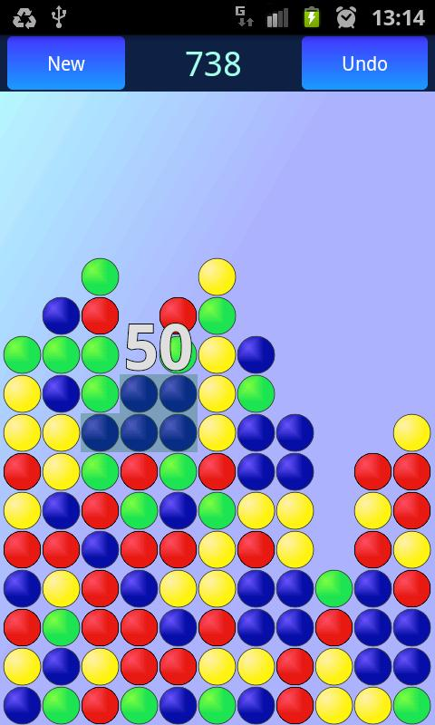 Complete Bubble Burst No-Ads - screenshot