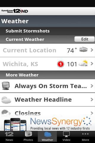 KWCH 12 - screenshot