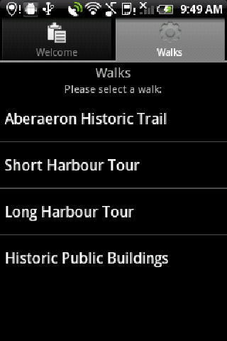 Aberaeron Walking Tour- screenshot