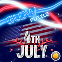 GlowPuzzle Independence Day icon