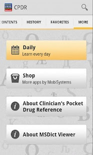 Clinicians Drug Reference 2011