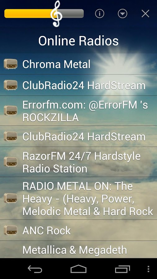 Rock Music - screenshot