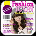 กรอบรูปปกนิตยสาร กรอบรูปสวยๆ icon
