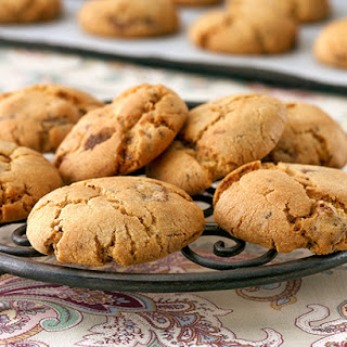 Coffee Choc-Chip Biscuits