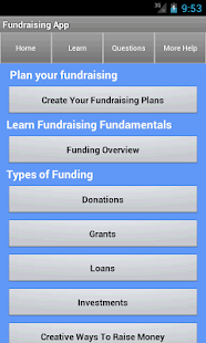 Funding & Fundraising Ideas - screenshot thumbnail