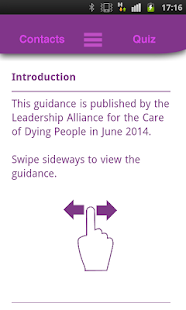 LACDP End of Life Guidance- screenshot thumbnail