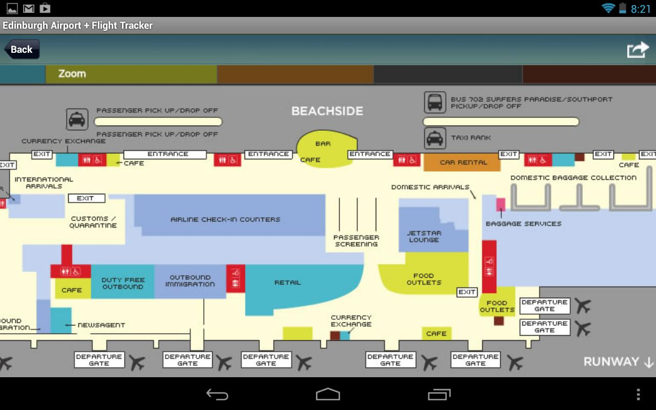 Floor Plan App For Android Gold Coast Airport Ool Flight Tracker Android Apps On