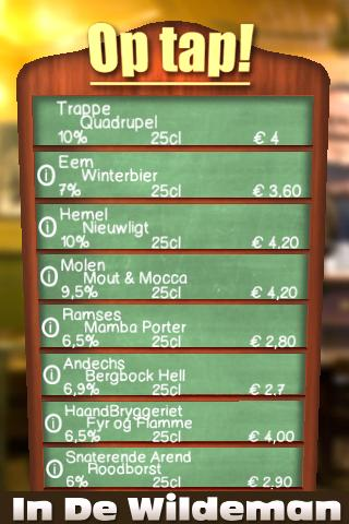 On Tapp In de Wildeman - screenshot