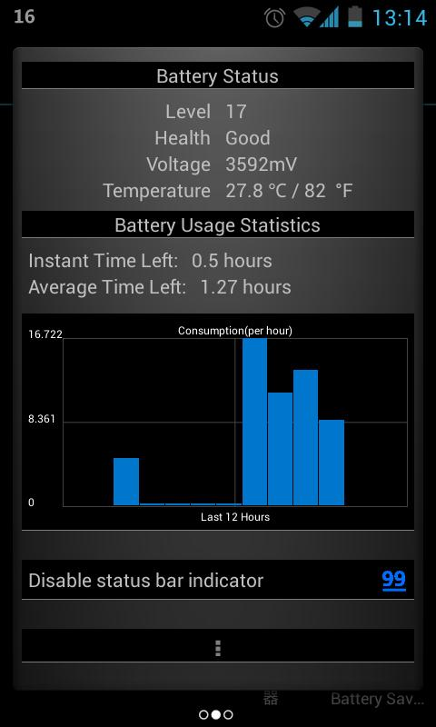 Glowing Battery Saver- screenshot
