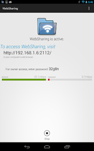 WebSharing (WiFi File Manager) - 屏幕截图缩略图