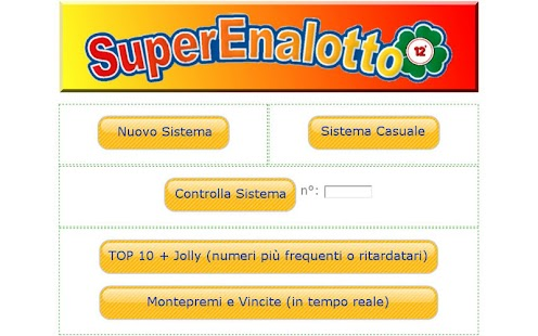 SuperEnalotto 12+ - screenshot thumbnail